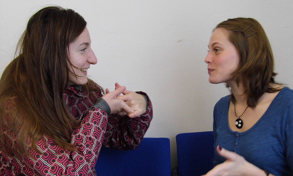 people speaking - the power of speech