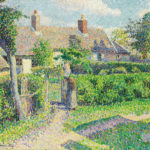 beauty Camille_Pissarro_-_Peasants'_houses,_Eragny_beauty