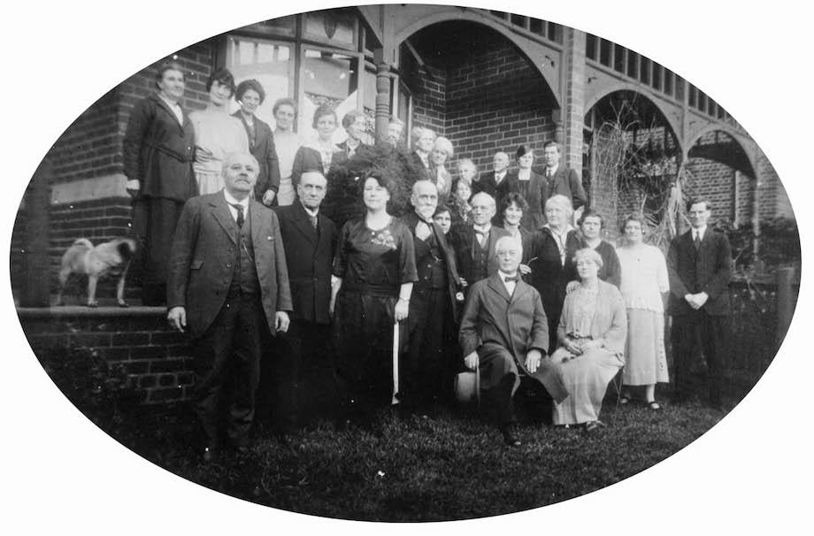 clara and hyde dunn 1922