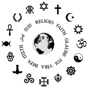 faith symbols - belief and foreignness