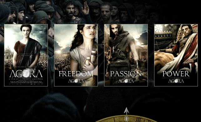 Agora Posters - freedom passion power