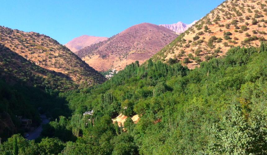 Baha'u'llah's love - the mountains of kurdistan