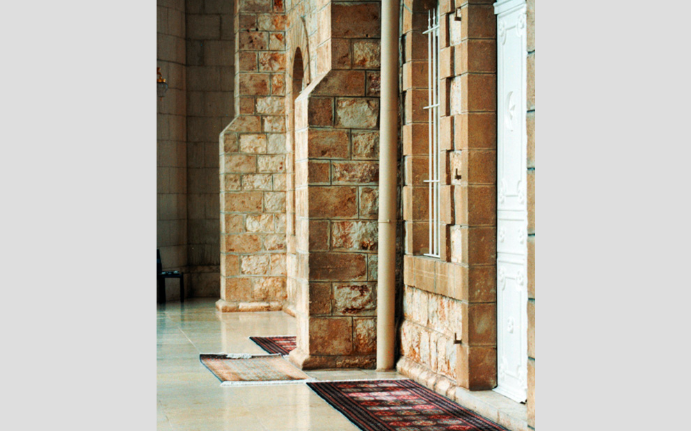Entry to Srhine of Abdu'l Baha and the Bab