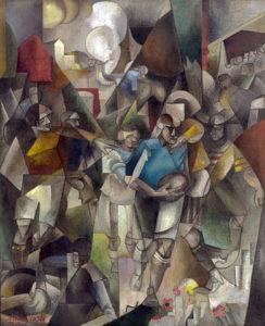 390px-Albert_Gleizes,_1912-13,_Les_Joueurs_de_football_(Football_Players),_oil_on_canvas,_225.4_x_183_cm,_National_Gallery_of_Art