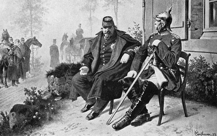 kings and rulers napoleon III and bismark summons of the lord of hosts