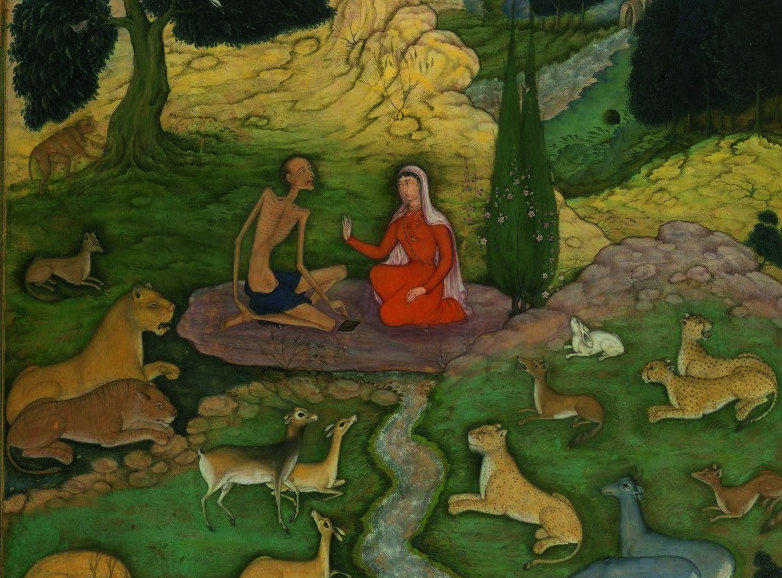 valley of knowledge - layla and majnun