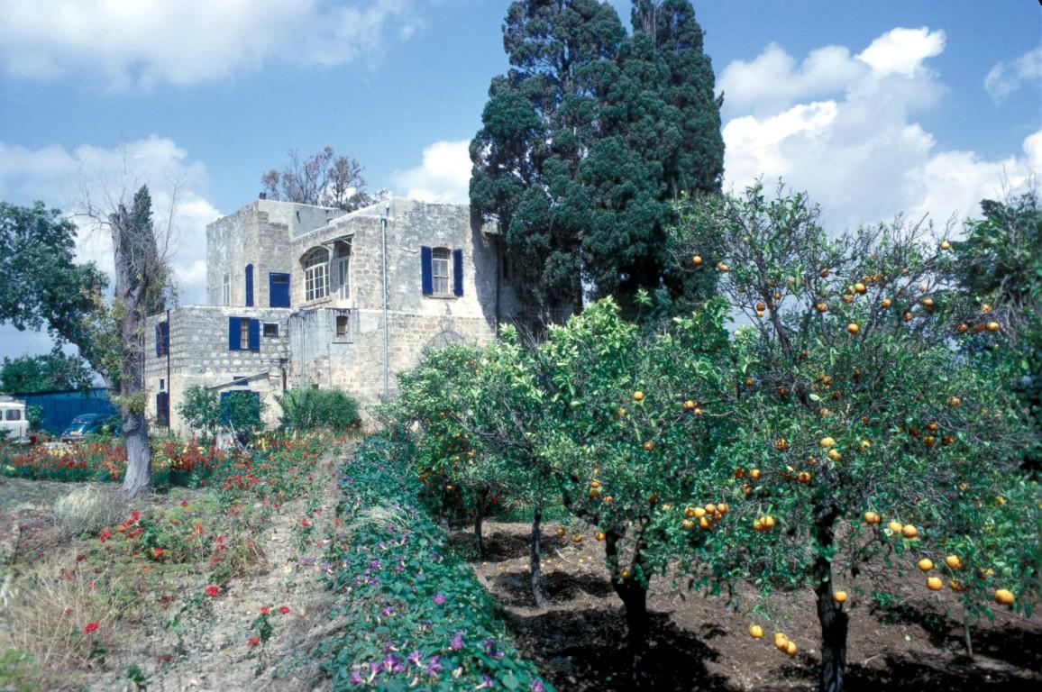 mazra'ih - Bahá'u'lláh's release from Akka
