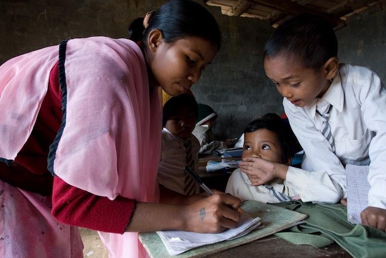 personal is universal - school in nepal